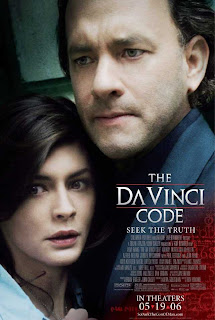 The Da Vinci Code 2006 Hindi dubbed movie poster