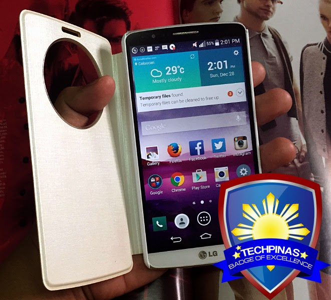 LG G3, LG G3 Philippines, TechPinas Badge of Excellence