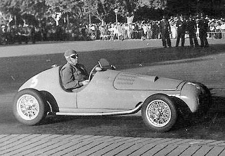 1 de febrero, 1948 / JEAN-PIERRE WIMILLE GANABA EN ROSARIO EN LA TEMPORADA INTERNACIONAL PARA COCHE