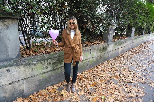 chloeschlothes-veste ceinture marron