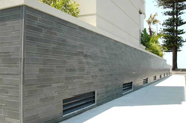 Eruptions with norstone volcanic tiles welcome to d b tile distributors newsletter for Exterior wall tile design ideas