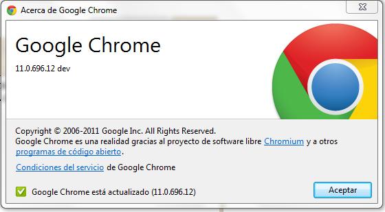 Nuevo logo de google chrome