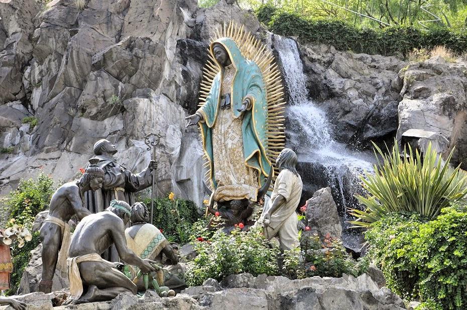 La Ofrenda en la Basílica de Guadalupe