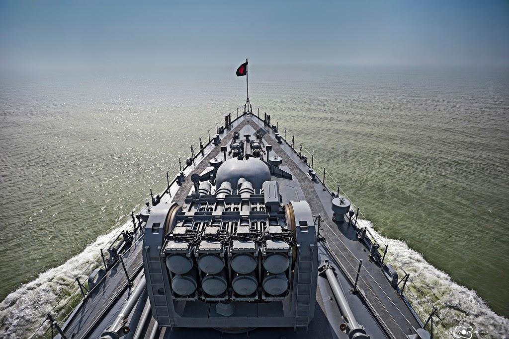 FM-90 SAM on Bangladesh Navy Frigate