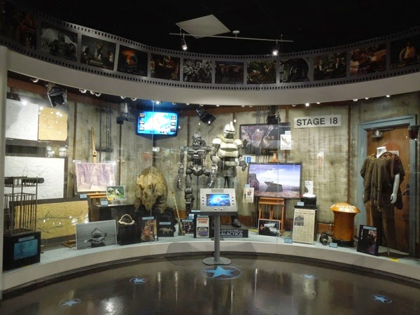 NBC Universal experience TV movie exhibit
