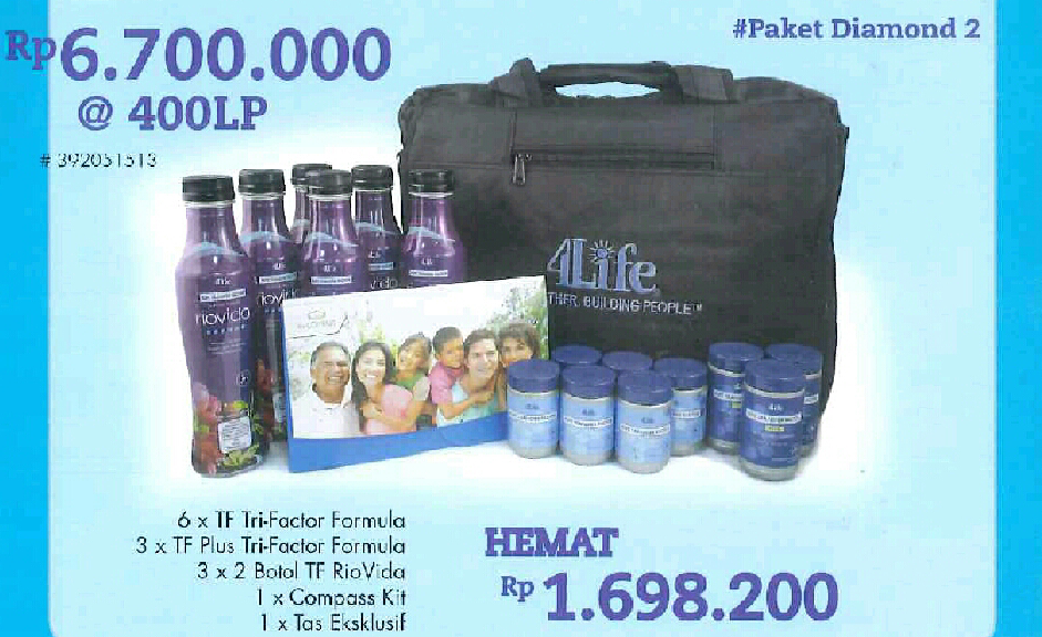 Paket Diamond 4Life Transfer Factor