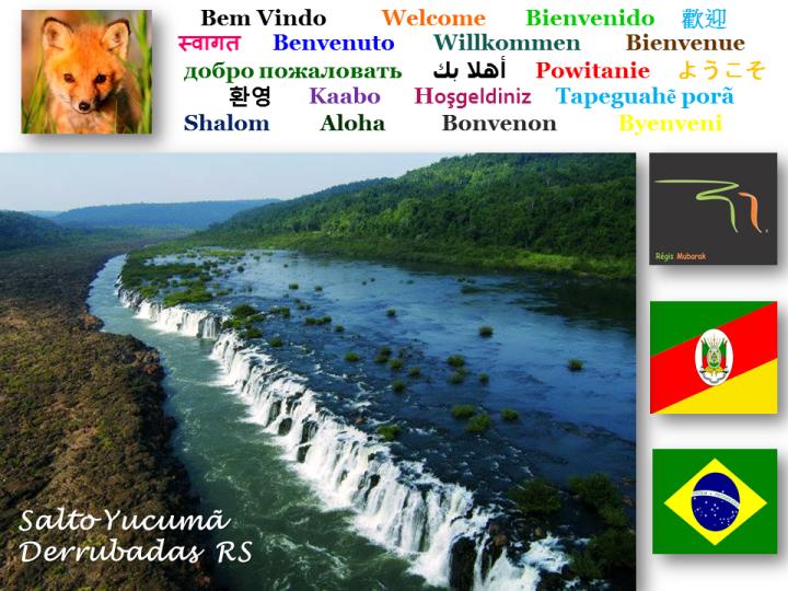 Salto Yucumã - Derrubadas - Rio Grande do Sul - Brasil
