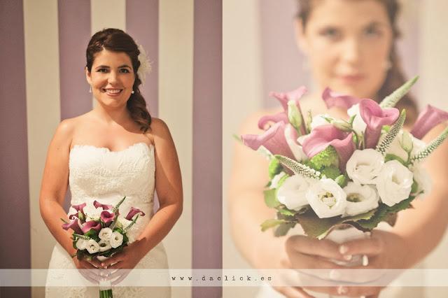 ramo de flores de la novia de Angela Floristas Elche