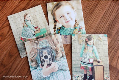 DIY Mod Podge Photo Canvas Prints