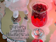 Raspberry Lemonade Moscato Punch Recipe