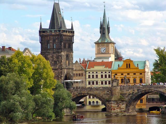 De turismo en Praga