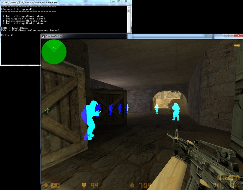 proee Counter Strike Wallhack Adv Cheat 2.0 Oyun Botu indir   Download