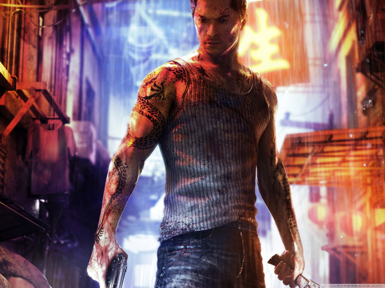Sleeping Dogs HD & Widescreen Wallpaper 0.23337118902652