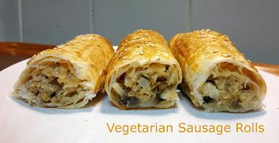 Vegetarian Sausage Rolls © Susan Lockhart King http://food-baby.blogspot.com.au
