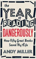 The Year of reading Dangerously hardback book cover by Andy Miller