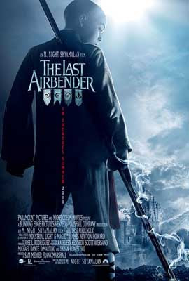 Filme Poster The Last Airbender CAM READNFO XViD-KiNGDOM
