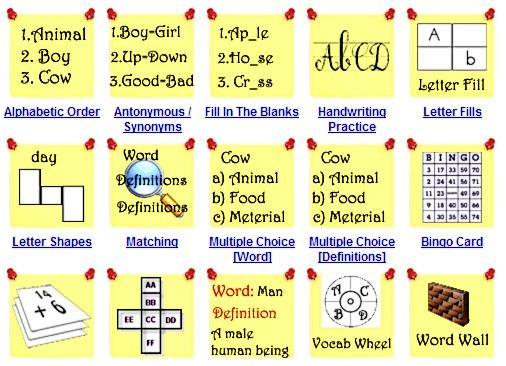vocabulary worksheet maker free vocabulary worksheet maker ...