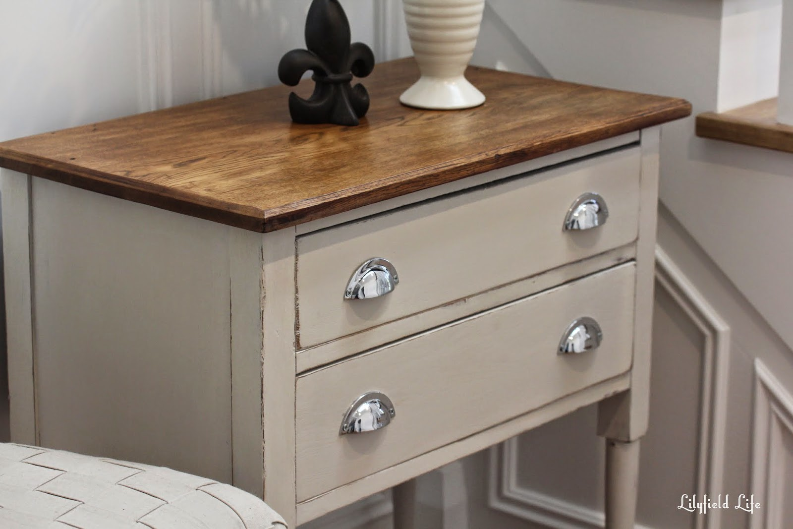 painting old furnitureLilyfield Life How to Paint Old Oak Drawers