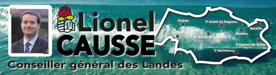 Lionel CAUSSE - Conseiller Général des Landes