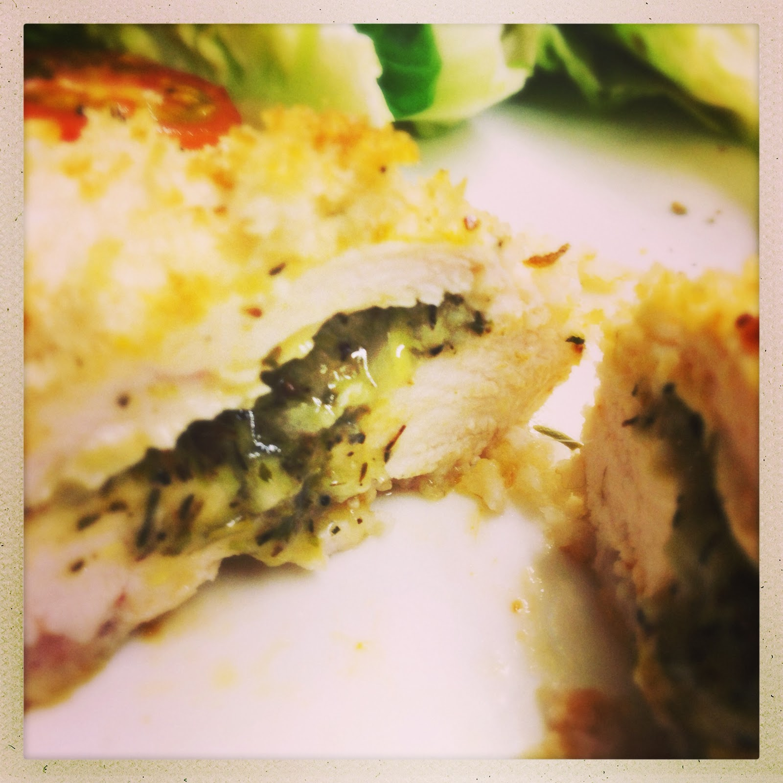When You Cut Into The Chicken Kiev, You Should Have A Fabulously Crispy  Coating, Succulent, Perfectly Cooked White Chicken With A Garlicky,