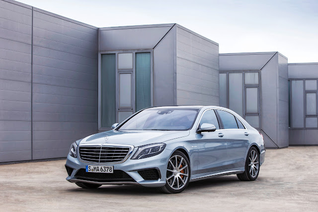 2014 Mercedes-Benz S63 AMG 4MATIC: The Big Merc with Serious Speed