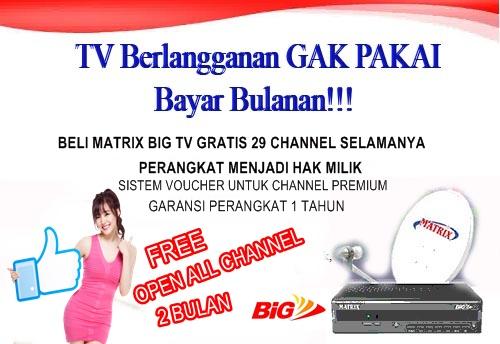 MATRIX BIG TV SOLO RAYA
