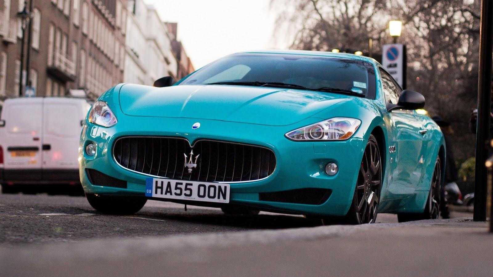Maserati granturismo blue - photo#13