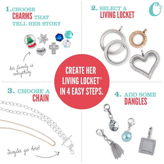 http:  Build the Perfect Gift with the Origami Owl Holiday Gift Guide at StoriedCharms.com