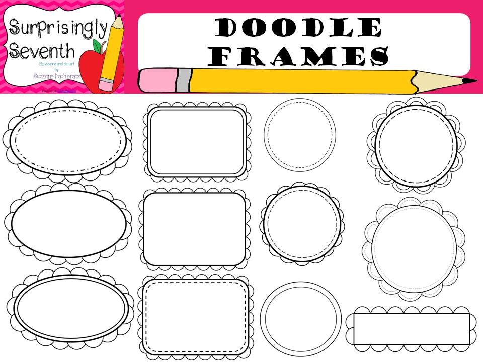 http://www.teacherspayteachers.com/Product/Doodle-Frames-1312411