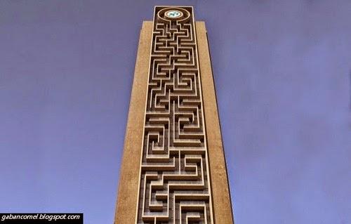 Menakjubkan Dubai Ada Tour Puzzle Menegak Terbesar di Dunia