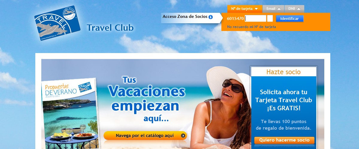Consultar puntos travelclub travel club todo sobre for Catalogo puntos bp