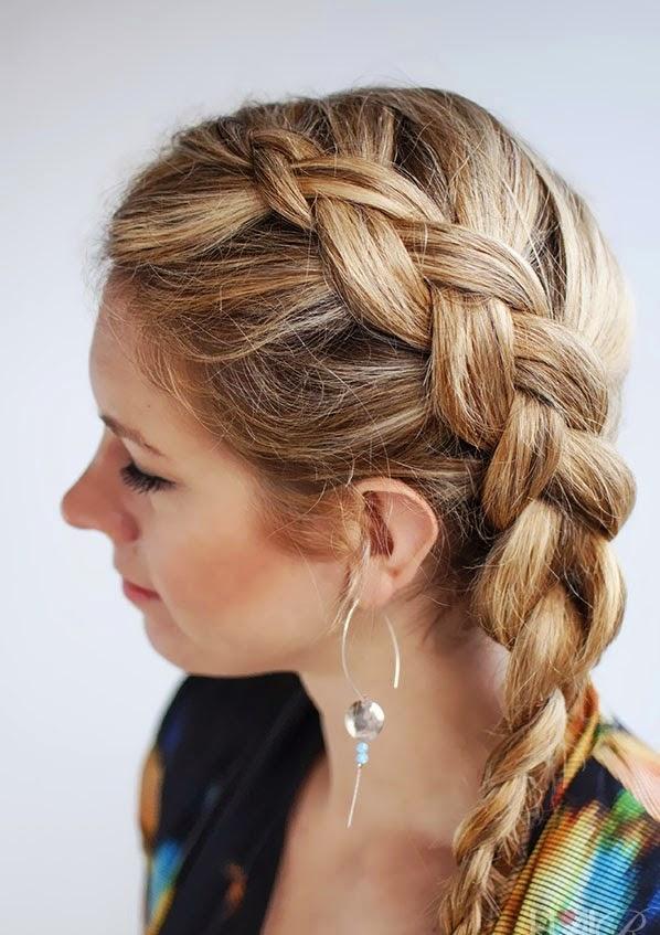 Model rambut panjang kepang terbaru 2015 model rambut panjang