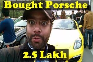 Porsche in 2.5 Lakh || Lahore Autimo Festival 2017 ||