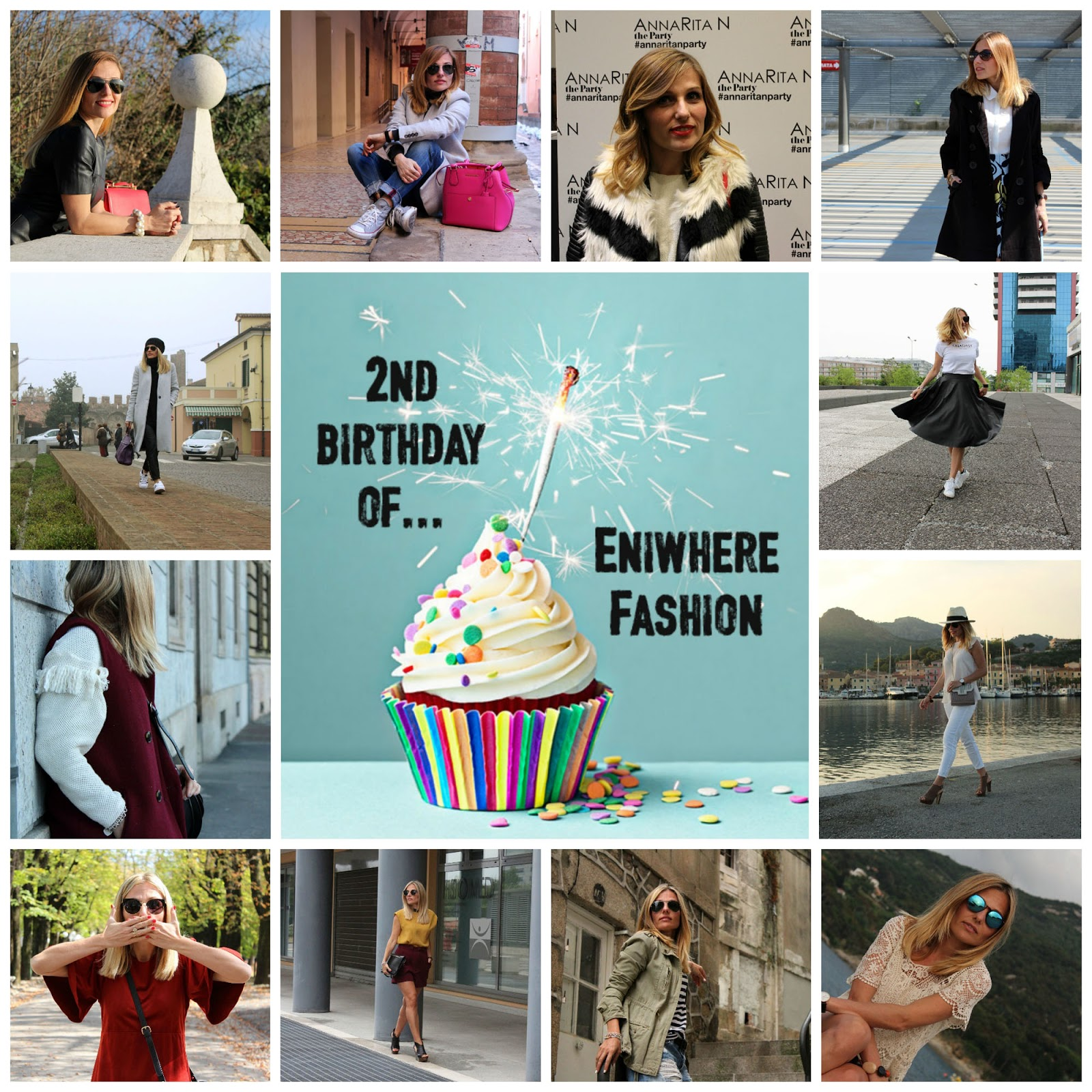 Eniwhere Fashion - Second blog's birthday