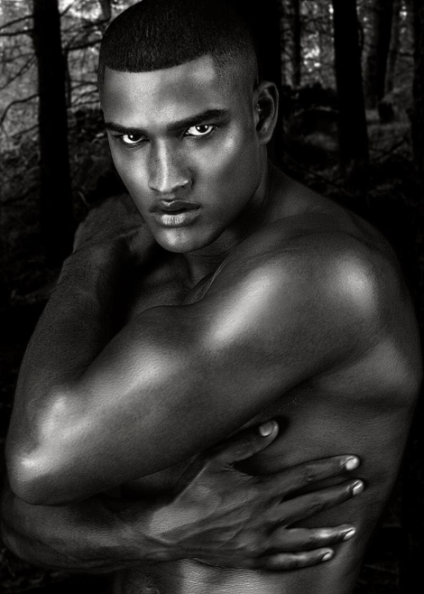 Rob Evans by Daniel Jaems for 'Gods of Beauty'