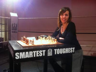 Échecs : Le chessboxing arrive en France © Chess & Strategy