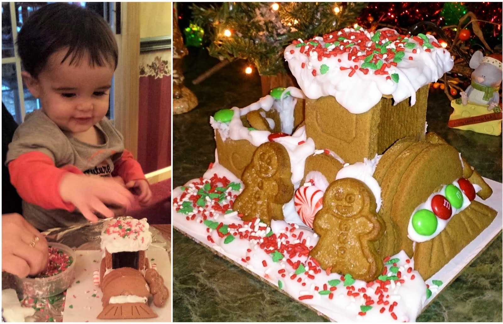 My Cousin Josiah's Gingerbread Train - December 2016