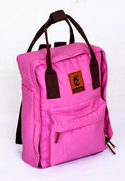 tas laptop pink