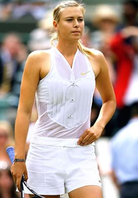 Maria Sharapova Tennis Playing Player 2009