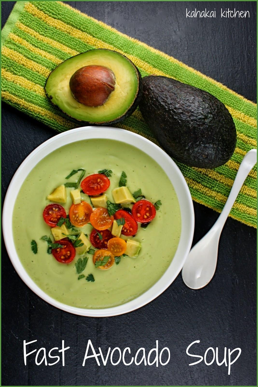 Chilled California Avocado Soup With Coconut Milk Recipes — Dishmaps