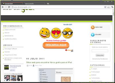 Google+ Tema para Google Chrome