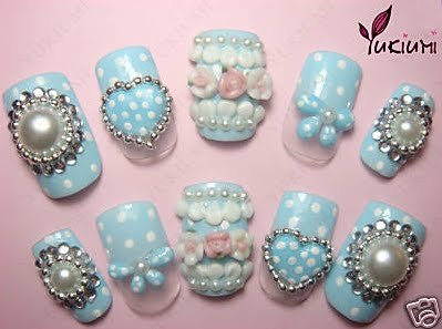 Japanese 3d nail art supplies images nail art and nail design ideas fashion at endalyon japanese 3d nail art if you are creative then this is really easy prinsesfo Choice Image