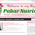 Tempahan Design Blog Pakar Nutrisi