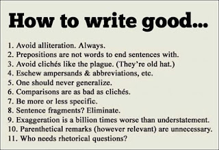 rules to writing