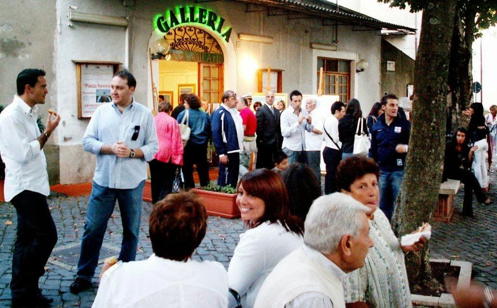 GALLERIA COMUNALE DI CERRETO LAZIALE IN CONTINUA ASCESA DI SUCCESSI IN SUCCESSI DAL 2003 AL 2011.