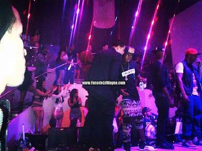 fotos de lil wayne en el cumpleaños de dj stevie j con ne-yo fabolous y trey songz