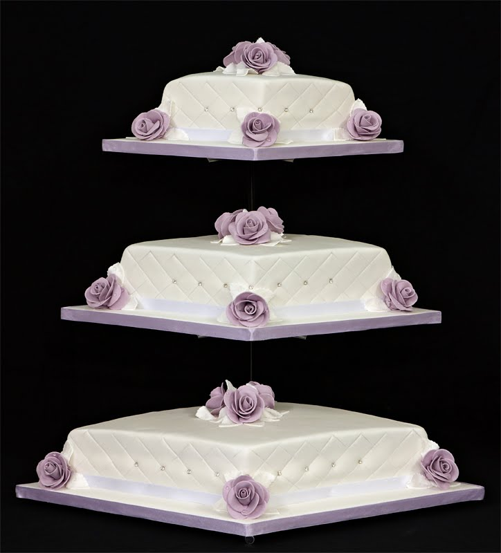 Diamond Wedding Cake For Wedding Parties