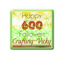 Crafting Vicky's 600 Followers Candy