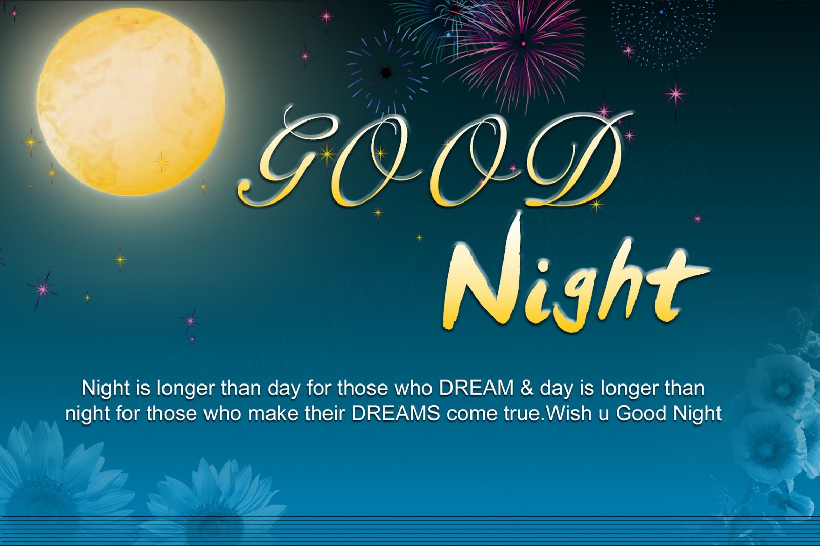 Lovely Good Night Messages cards, SMS Wishes Images ...