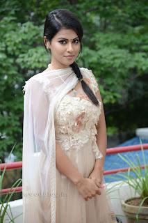 Sharmila Mandre pos at Kevvu keka SM 007.jpg
